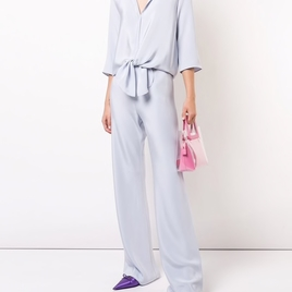 Peter Cohen Chambray 4-ply Silk Ensemble