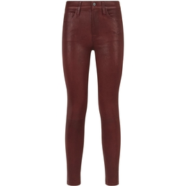 Wine Coated Skinny Jeans