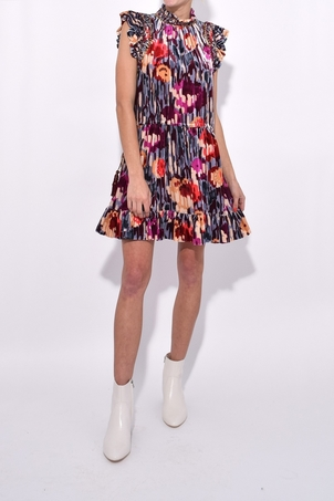 Ulla Johnson Penny Velvet Dress - Disco Dresses