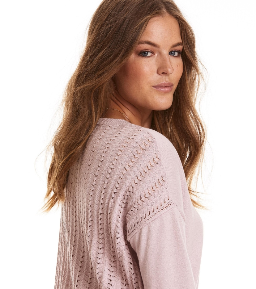 Odd Molly Miss Soft Pointelle Sweater (orig $166) Tops