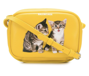 Balenciaga Yellow Cat Bag Bags