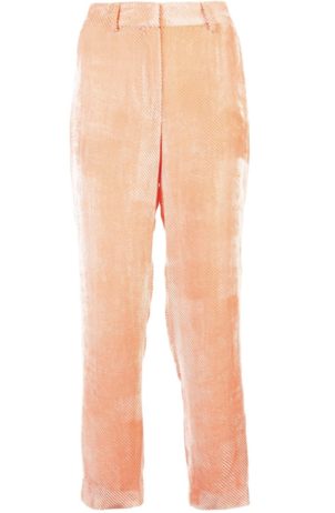 Sies Marjan Orange Velvet Pants Pants