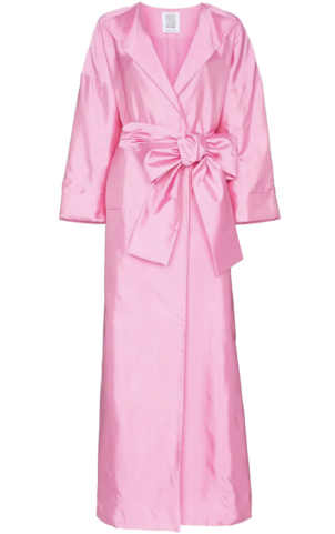 Rosie Assoulin Pink Wrap Dresses Outerwear