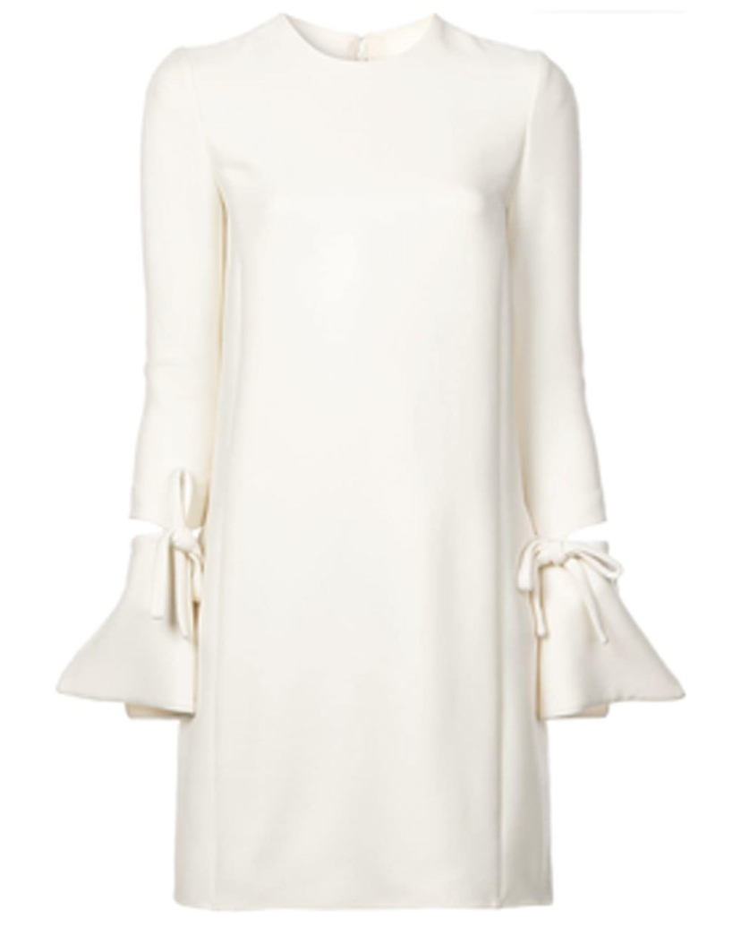 Oscar de la Renta Oscar de la Renta Ivory Day Dress Dresses