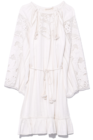 Ulla Johnson Ezra Dress in Blanc Dresses
