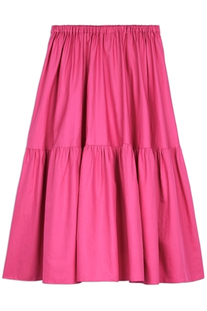 Stella McCartney Tanya Skirt in Bright Pink