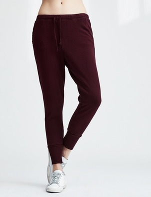 Frank & Eileen Red Long Sweatpant with Cuff Pants