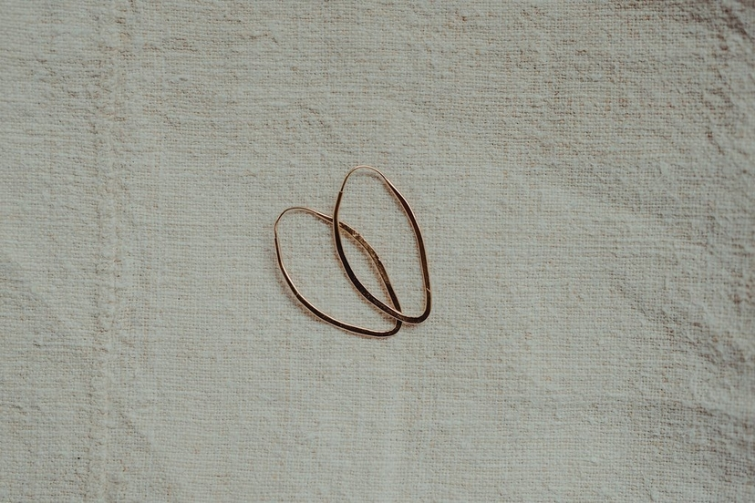 Takara Small Pointed Hoops Jewelry