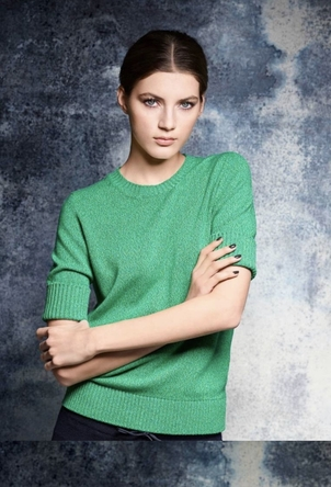 Barrie Barrie Cashmere - Green Sweater Tops