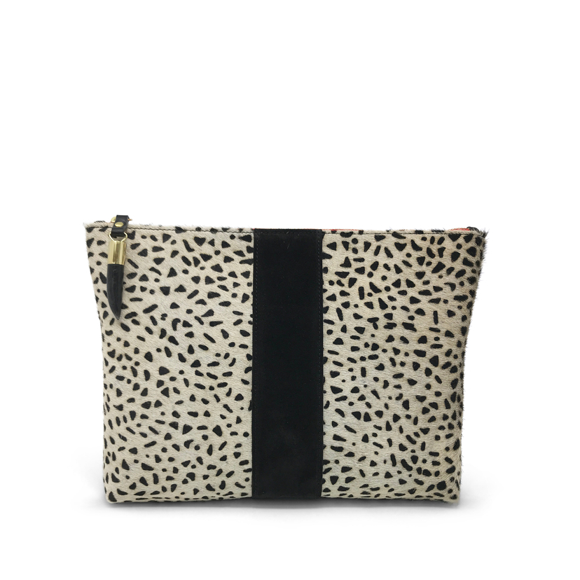 Kempton Co Cheetah Medium Pouch Bags