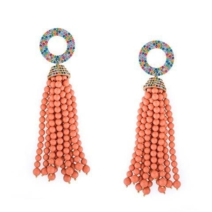 Joanna Laura Constantine Tribal Rainbow Earrings Jewerly