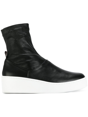 Robert Clergerie Teniera Wedge Ankle Boot Shoes