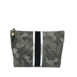 Kempton Co Camo Suede Medium Pouch Bags