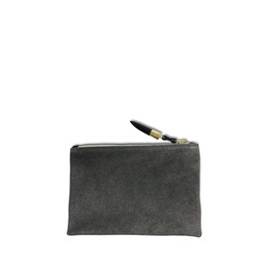 Kempton Co Metallic Grit Small Pouch Bags