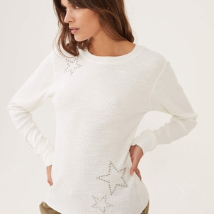MONROW Monrow Star Studded Thermal Tops