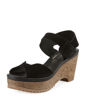 Pedro García Pedro Garcia 'Fah' Platform Cork Wedge Shoes