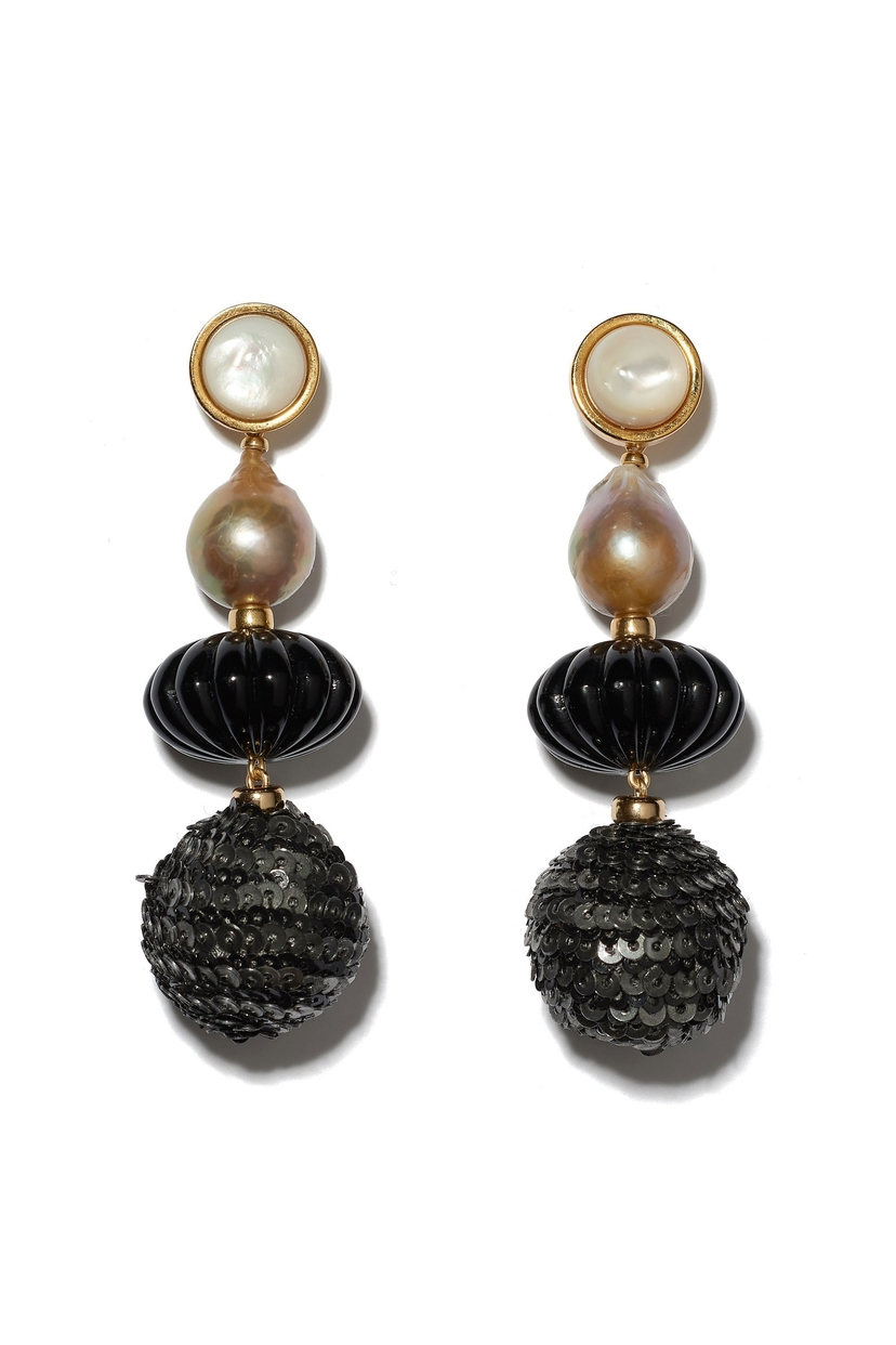 Lizzie Fortunato Masquerade Ball Earrings Jewelry Sale