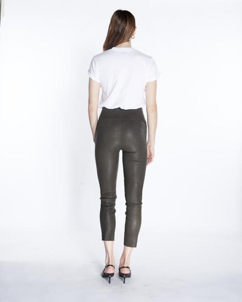 SPRWMN High Waisted Ankle Legging- Army Pants