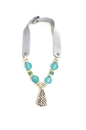 Twine + Twig Mid Shell Necklace | Surf Jewelry