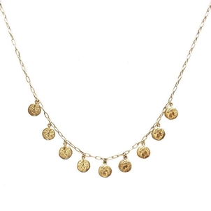 Ray Griffiths Ray Griffiths 18K Roman Coin Necklace Jewelry