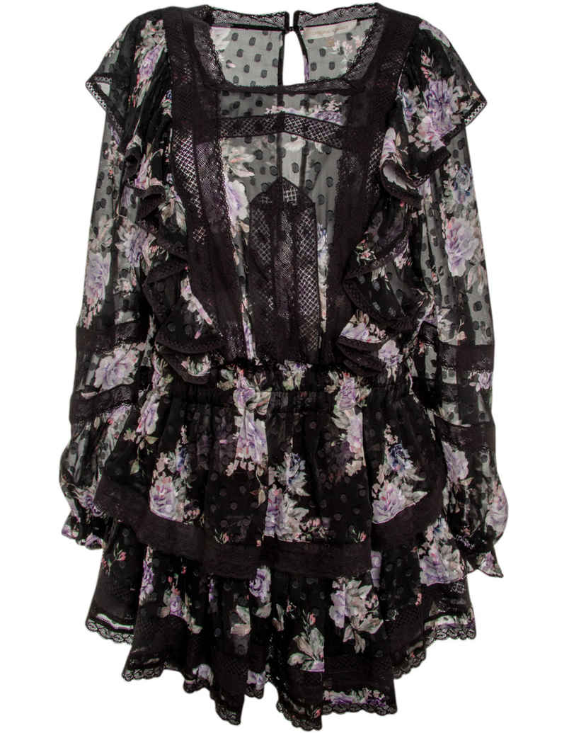 Loveshackfancy Love Shack Fancy Noir Minetta Dress Dresses