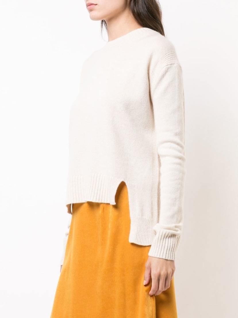 Rosetta Getty Cropped Front Pullover Tops