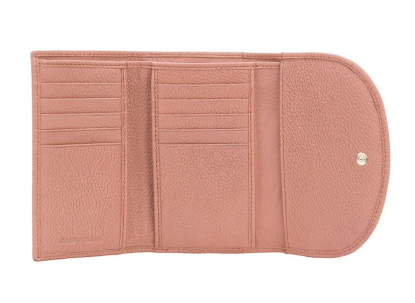 See by Chloé Leather Ring Wallet in Sunset (Originally $195) Bags Sale