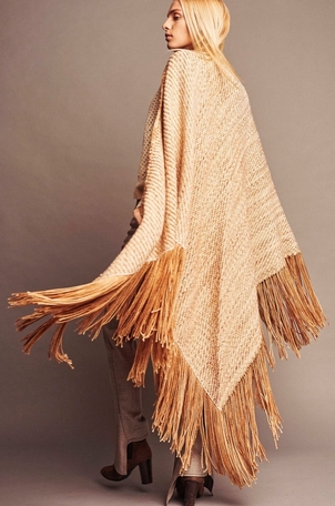 wehve Chunky Wrap Shawl - Dunes Outerwear Tops