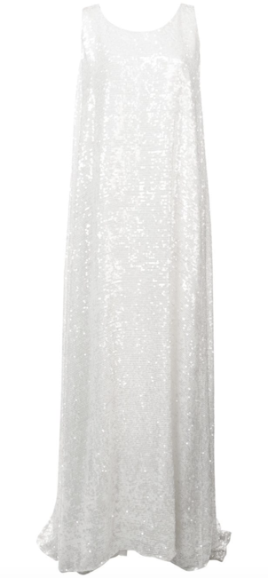 Adam Lippes Sleeveless Sequin Dress Dresses