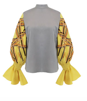 All Things Mochi Ava Top - Yellow Tops