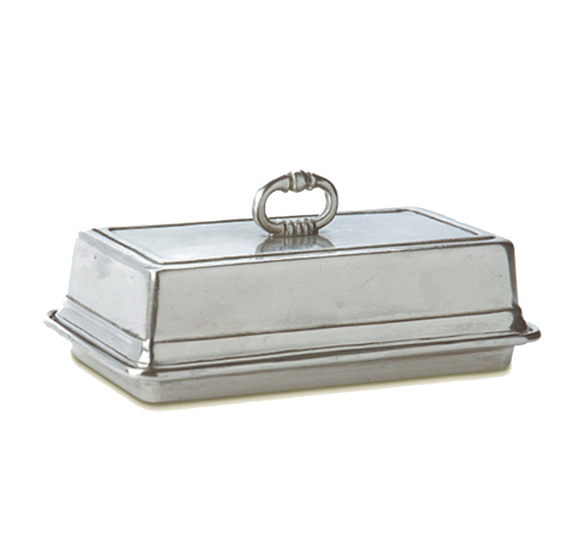 MATCH Pewter Pewter Covered Butter Dish