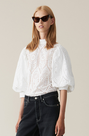 Ganni Falcon Shirt Tops