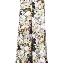 Adam Lippes - Floral Print Wide Leg Trousers
