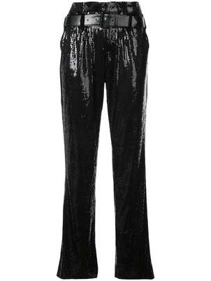 RTA RtA - Belted Sequin Trousers