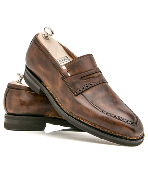 Bontoni Bontoni Chocolate Chiaro Tancredi Shoes