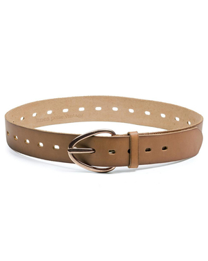 Linea Pelle Linea Pelle Perry Perforated Belt Accessories