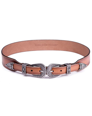 Linea Pelle Linea Pelle Double Buckle Belt Accessories