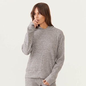 MONROW Monrow Super Soft Pullover Thermal Hoody Tops