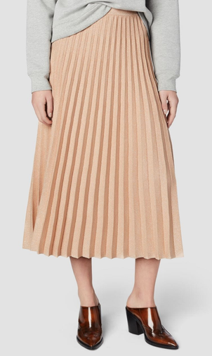 Derek Lam 10 Crosby Rose Pleated Skirt Skirts