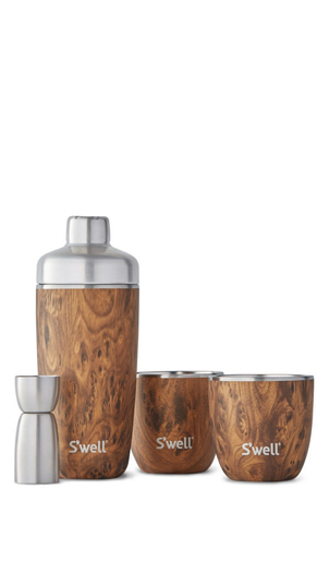 S'well S'well Cocktail Kit - Teakwood