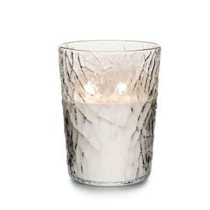 Simon Pearce Silver Lake Evergreen Candle