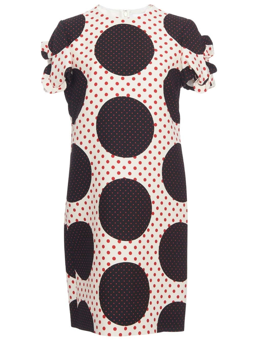 Valentino Valentino - Polka-dot Crepe Dress