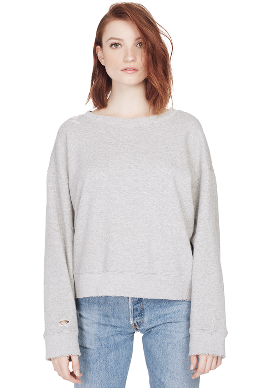 RTA Herve Sweater (Foggy) Tops