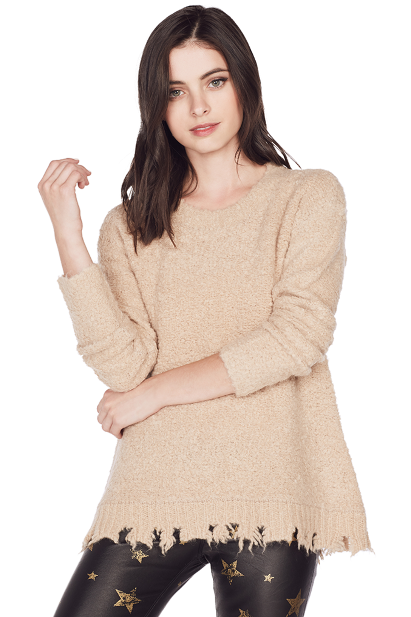ATM Alpaca Crew Neck Sweater Sale Tops